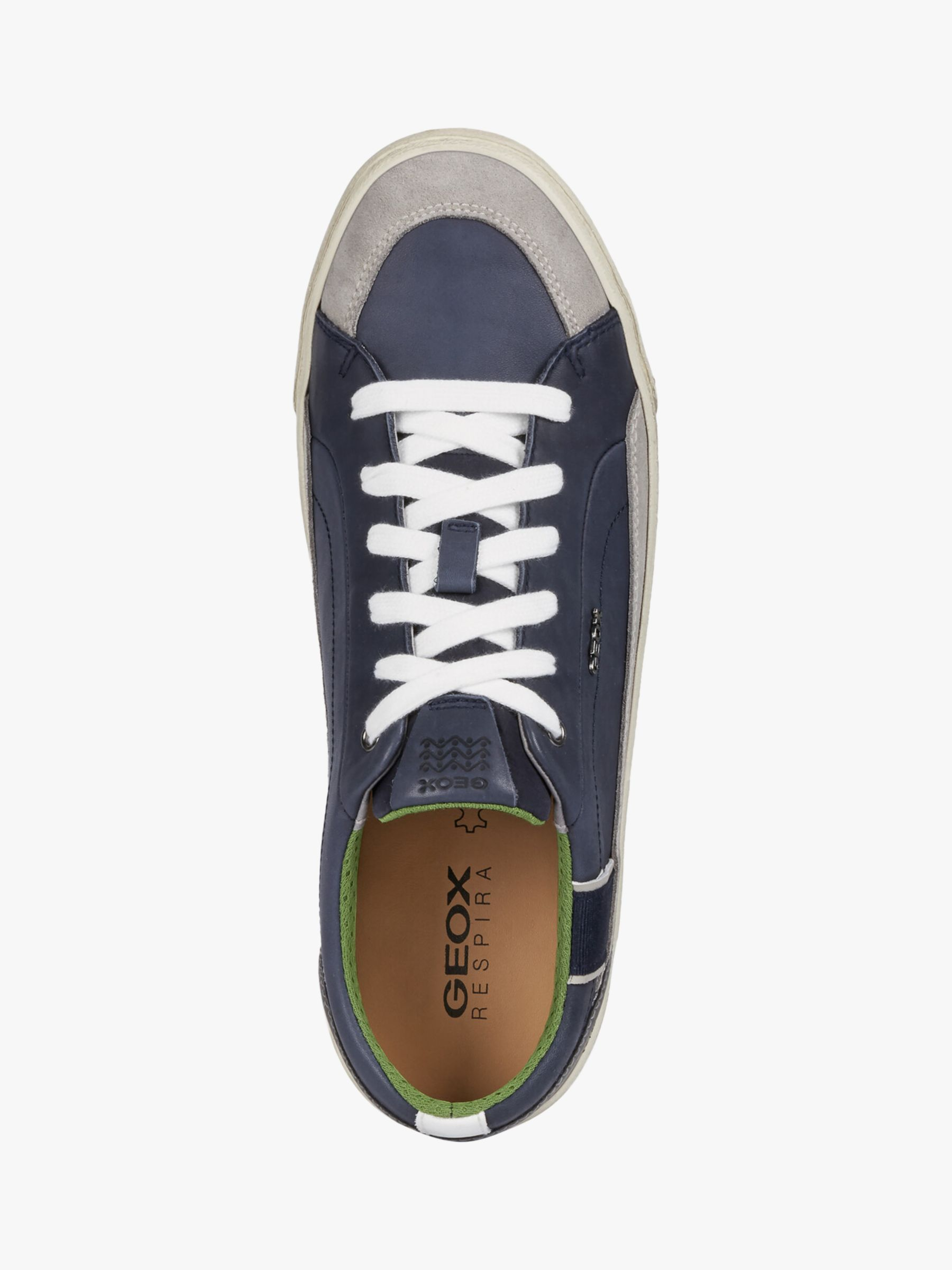 Geox New Do Leather Trainers at John