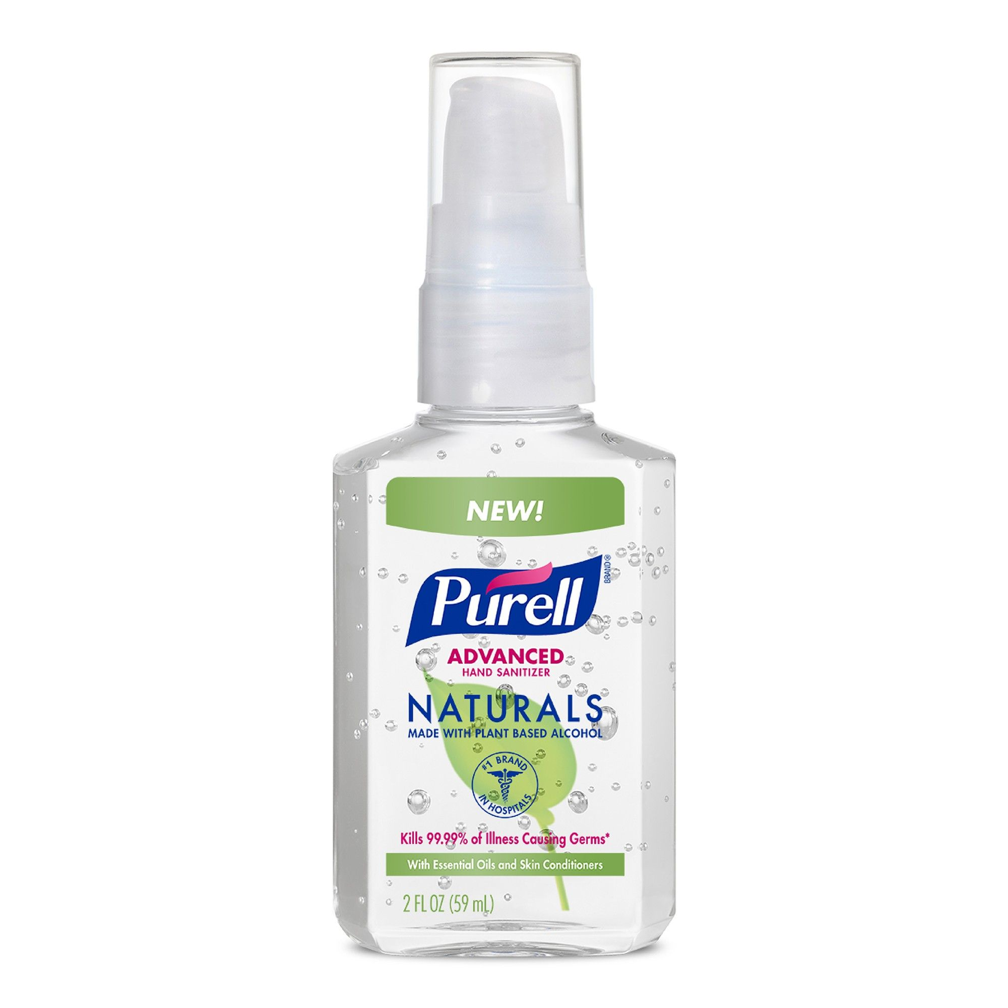 Purell Naturals Advanced Hand Sanitizer 2 Fl Oz With Images