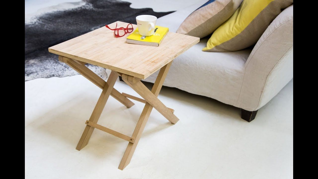 Comment Fabriquer La Table Pliante Bamboo Table Pliante Table Pliante Bois Table Basse Pliante