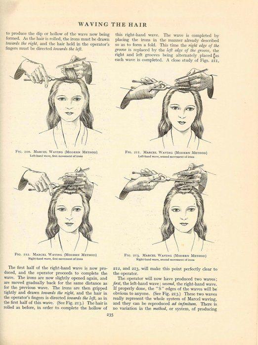 1920 S Hairdressing Book Free Vintage Hair Dressing Instructions Vintage Hairstyles Hairstyle Books Vintage Hairstyles For Long Hair