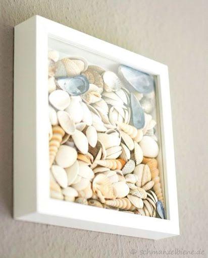 Photo of Simple Coastal Seashell Shadow Box Ideas