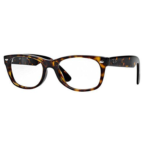 956c122842cfd Ray-Ban New Wayfarer Square Eyeglasses,Dark Havana,50 mm -   Ropa y ...