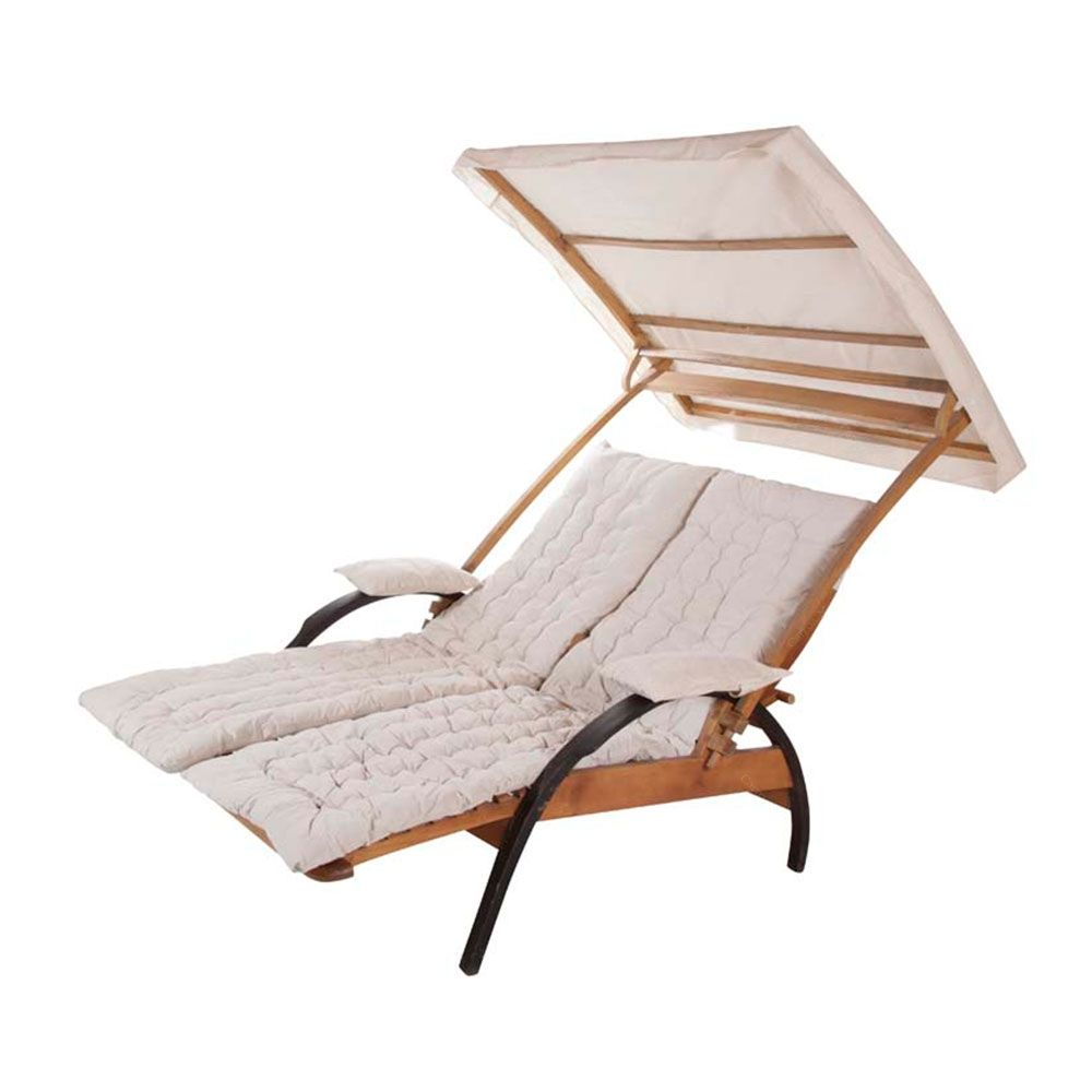Cadeira De Praia 2 Lugares Summer Madeira Algod 227 O