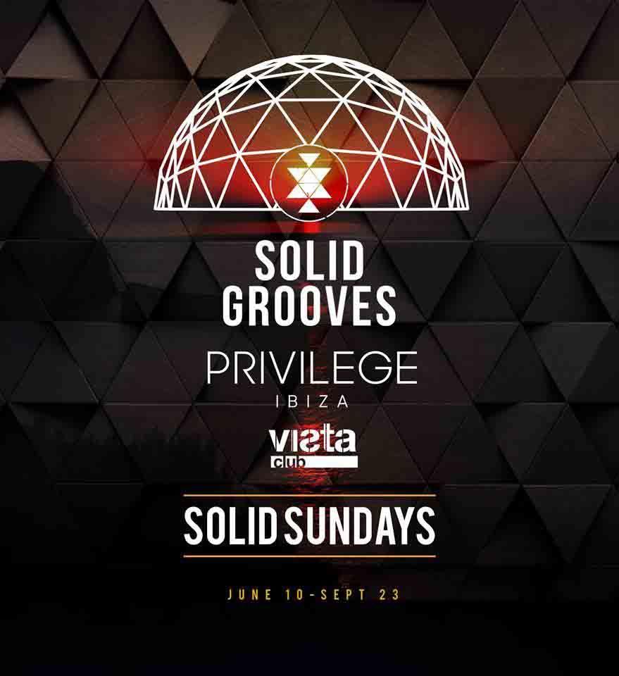 Solid Grooves anuncia los line up semanales en Privilege