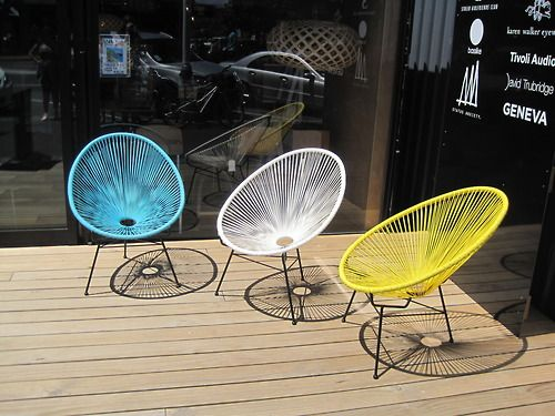 Genial Colorful Outdoor Chairs