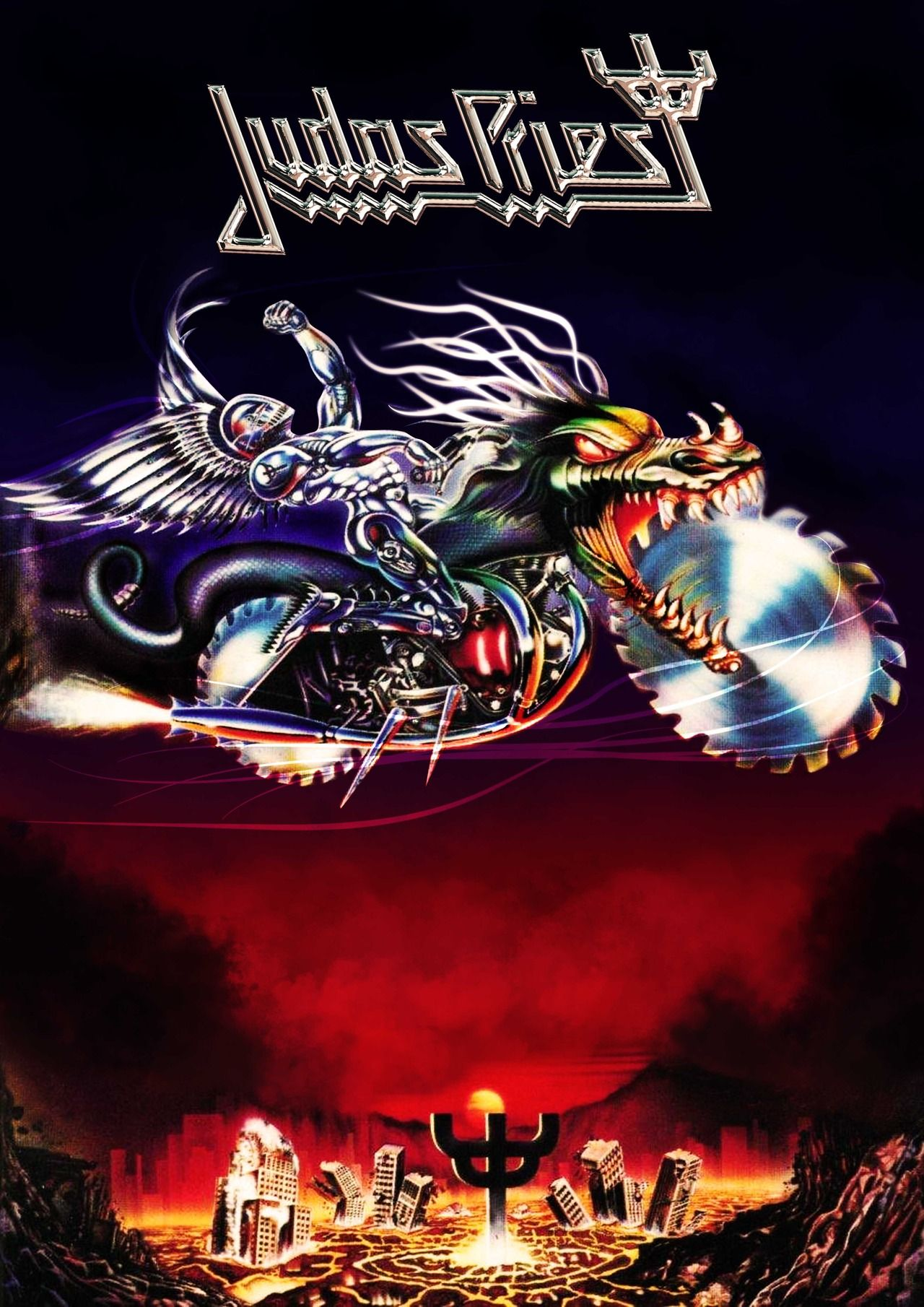 Pin By Dean On Metal Gods Judas Priest Heavy Metal Art Band