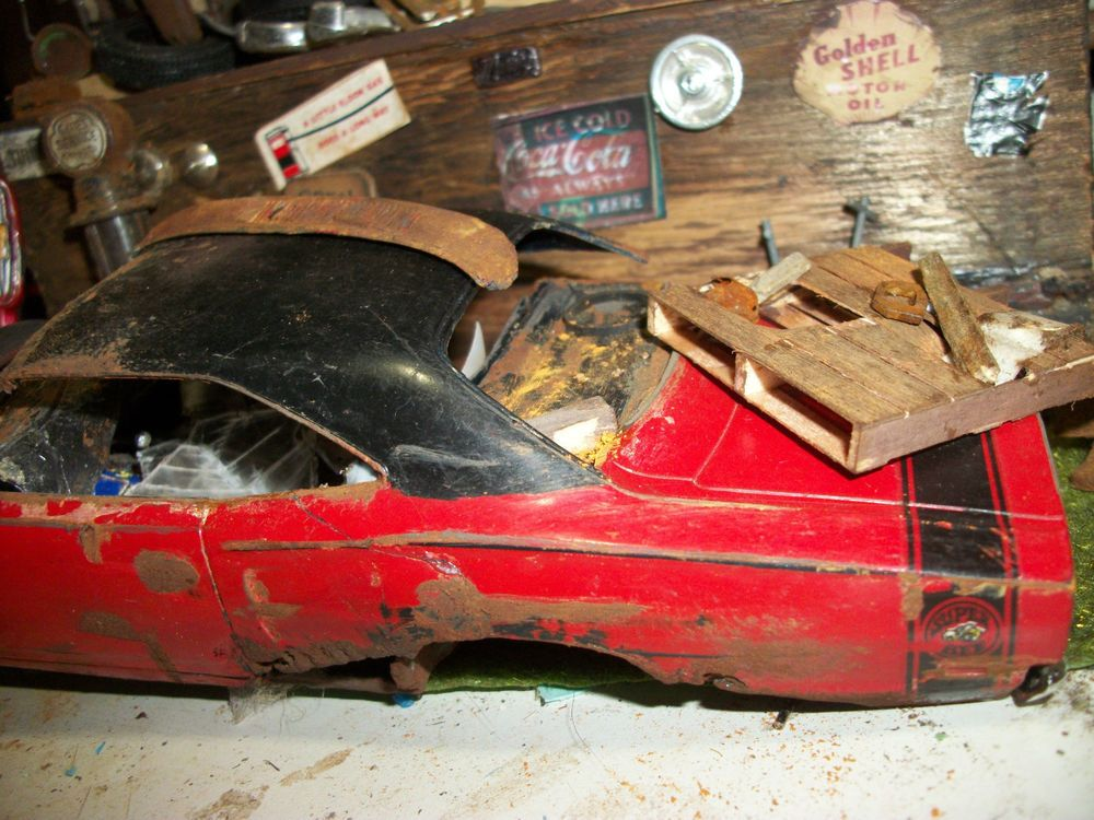 Plastic Model Dodge Junkyard Junker Plastic Model Built | Models ...