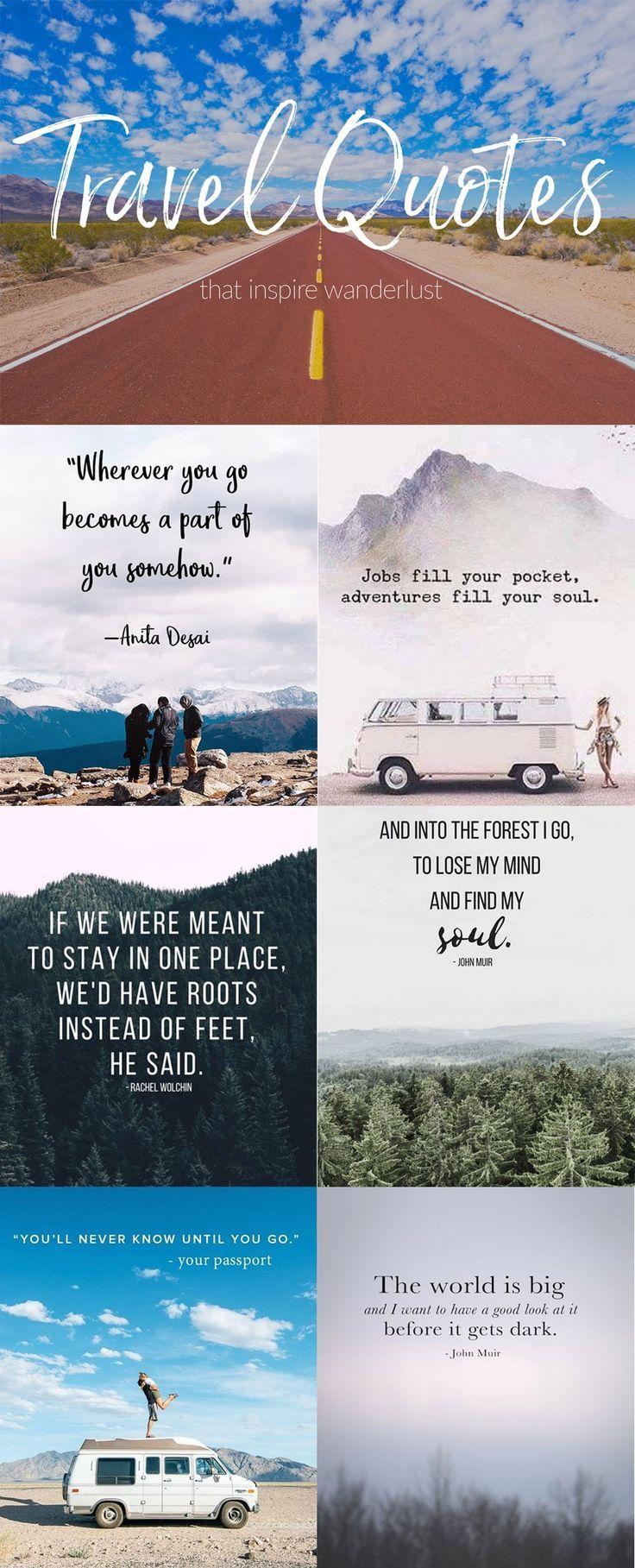 My Favorite Wanderlust Quotes | Wanderlust Crew