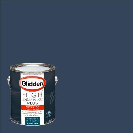 Glidden High Endurance Plus Exterior Paint and Primer, Federal Blue , #50BB 08/129
