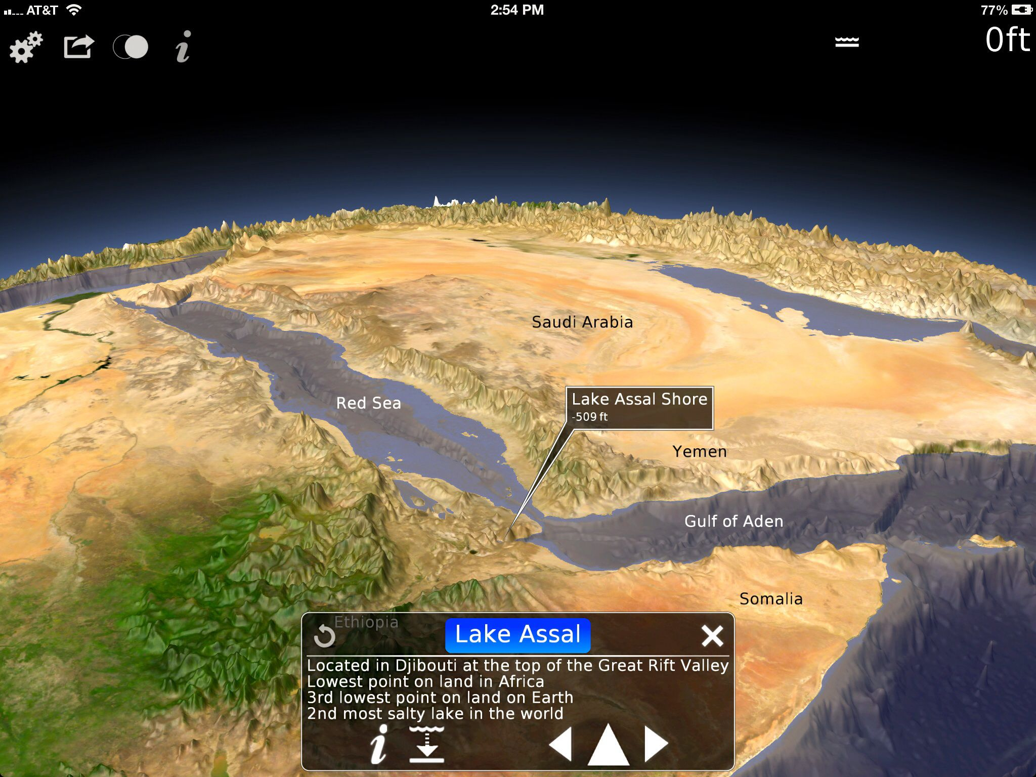 The Second Lowest Elevation On Land In The World Rift Valley Earth App Earth