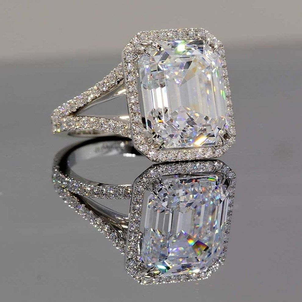 31 Beautiful Fake Diamond Wedding Rings That Look Real