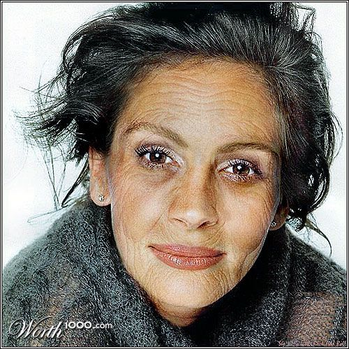 Aging gracefully. She's gorgeous! | silver style | Older ...