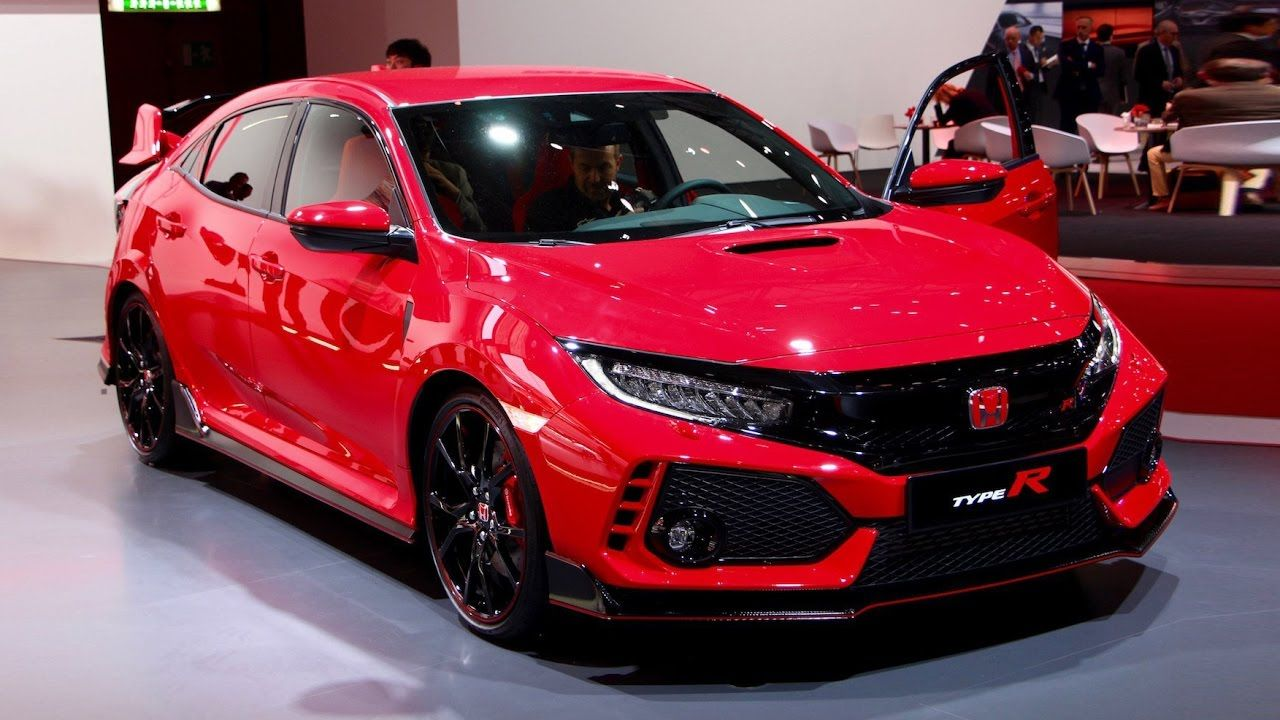 2018 honda civic type r first look 2017 geneva motor show great cars videos pinterest. Black Bedroom Furniture Sets. Home Design Ideas