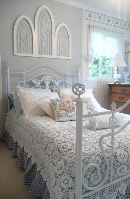 wonderful romantic shabby chic bedroom | 25 Wonderful Cheap Ideas for Furniture Decoration and ...