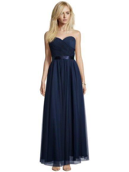MASCARA Abendkleid aus feinem Tüll in Blau / Türkis online kaufen ...
