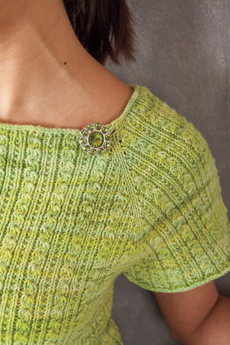 Sauriel Top Down Raglan Top Pattern Knitting Patterns And Crochet