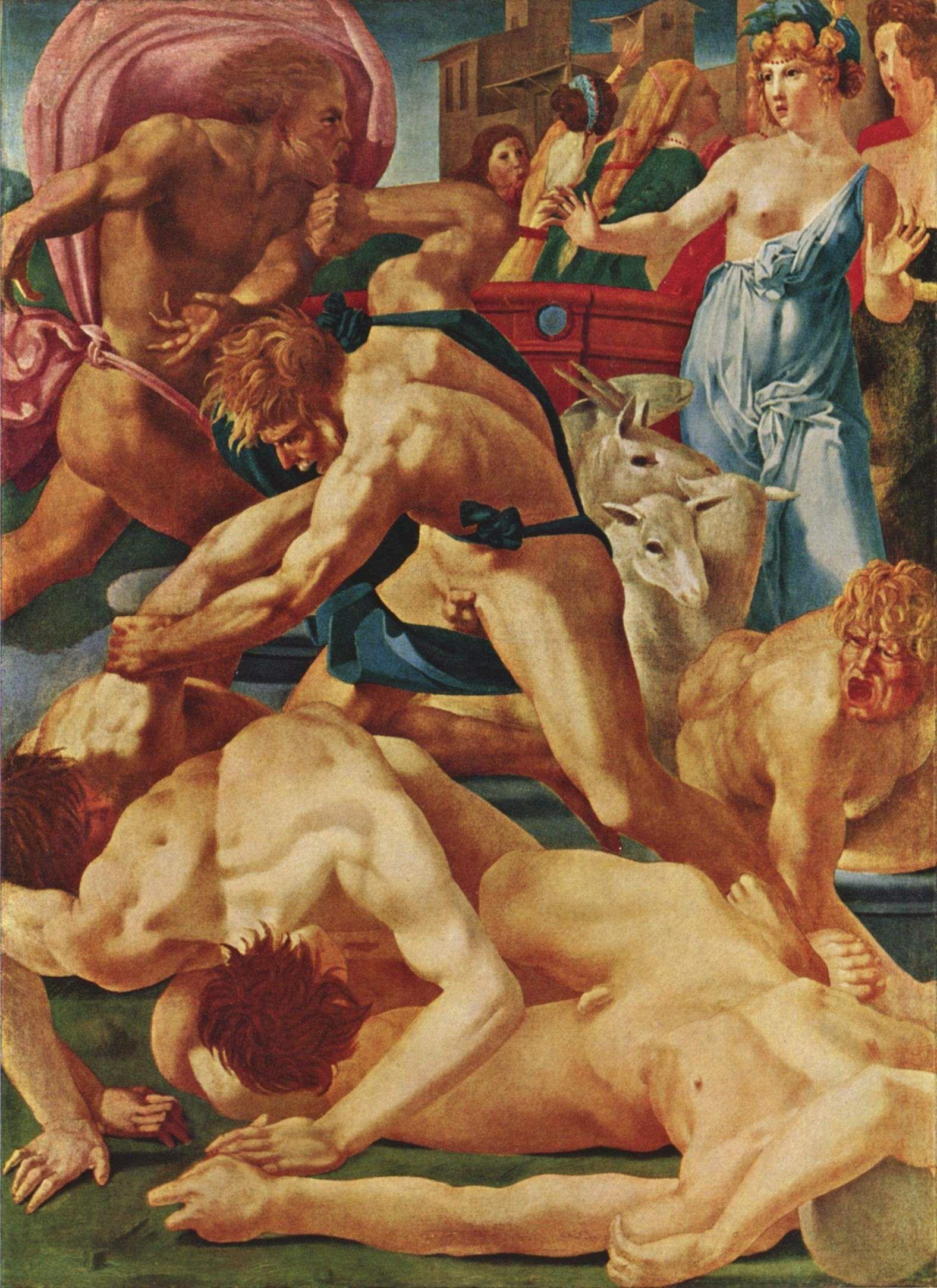 Rosso Fiorentino Renaissance Art Uffizi Gallery Renaissance