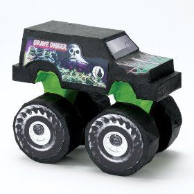 Pinata On Amazon 23 Monster Truck Party Monster Trucks Birthday Party Monster Truck Birthday
