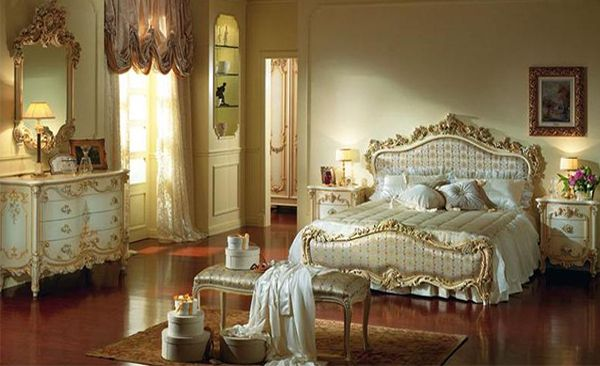 A Master Bedroom Designed In A Victorian Style Victorian Bedroom