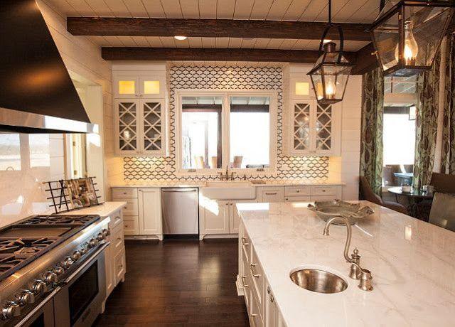 South Shore Decorating Blog:  love this countertop!