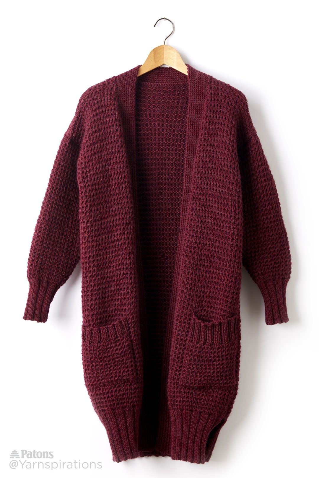 15 Knitted Cardigan Patterns That Are Perfect for Cold Season | Free ...