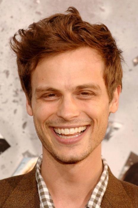Matthew Gray Gubler... and more importantly, Matthew Gray Gubler's beautiful teeth.