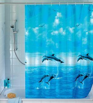Dolphin Shower Curtain   19125100