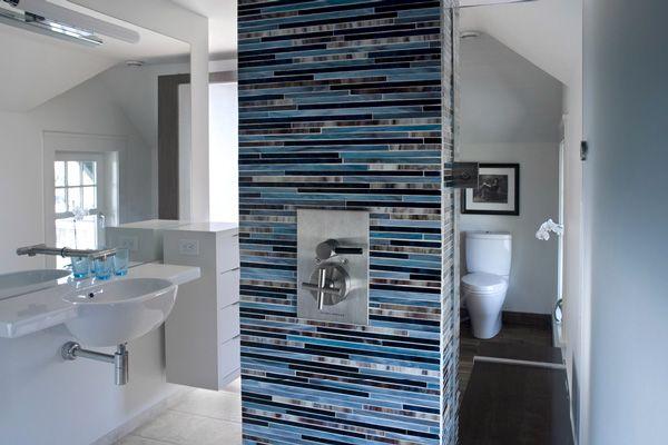 Glass Tile Mosaic - Bath Column - Bathroom Tile
