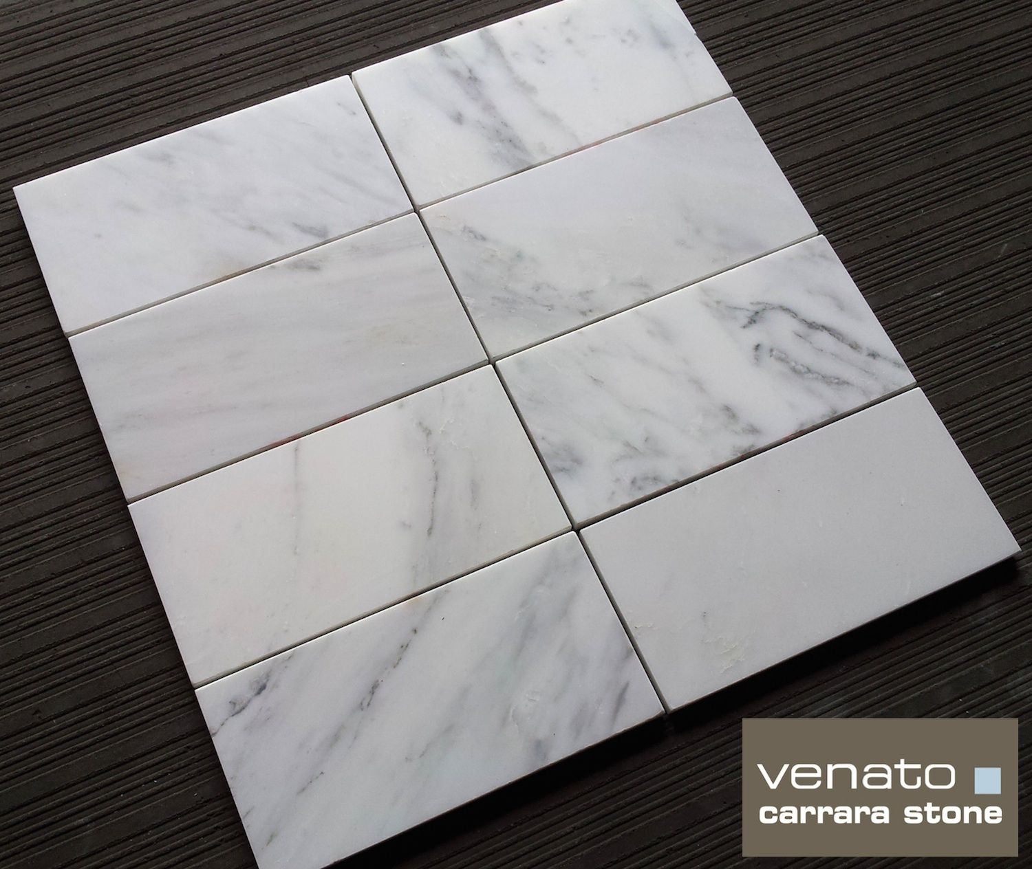 Carrara Venato 4x8 Subway Tile Available Online From The Builder Depot Perfect For