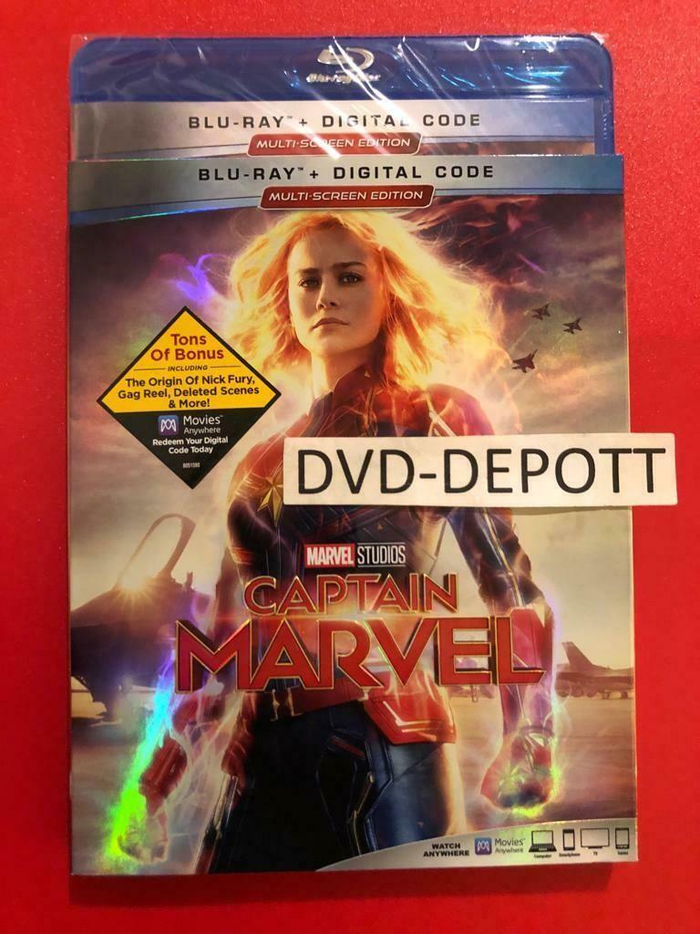When Captain Marvel Blu Ray