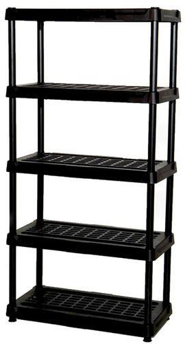 5 Tier 18 Ventilated Shelf Unit Black at Menards for my