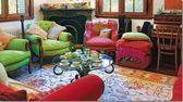 bright room colors for home decorating modern interiors with bright walls room furniture and decor accessories Das schönste Bild für dark Colorful interiors  da...