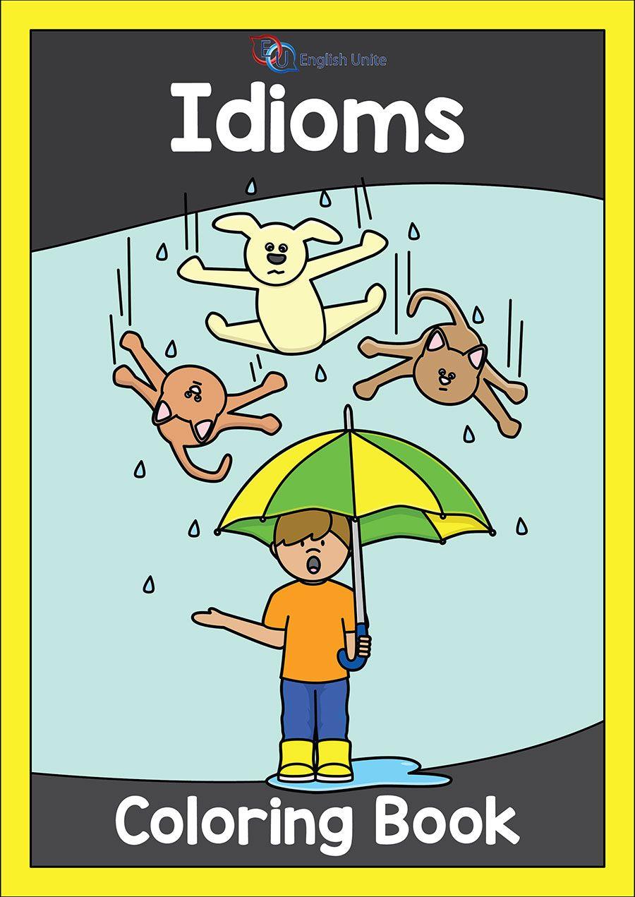 Coloring Book Idioms English Unite Idioms English Grammar Book Coloring Books Expected reading level grade victoria