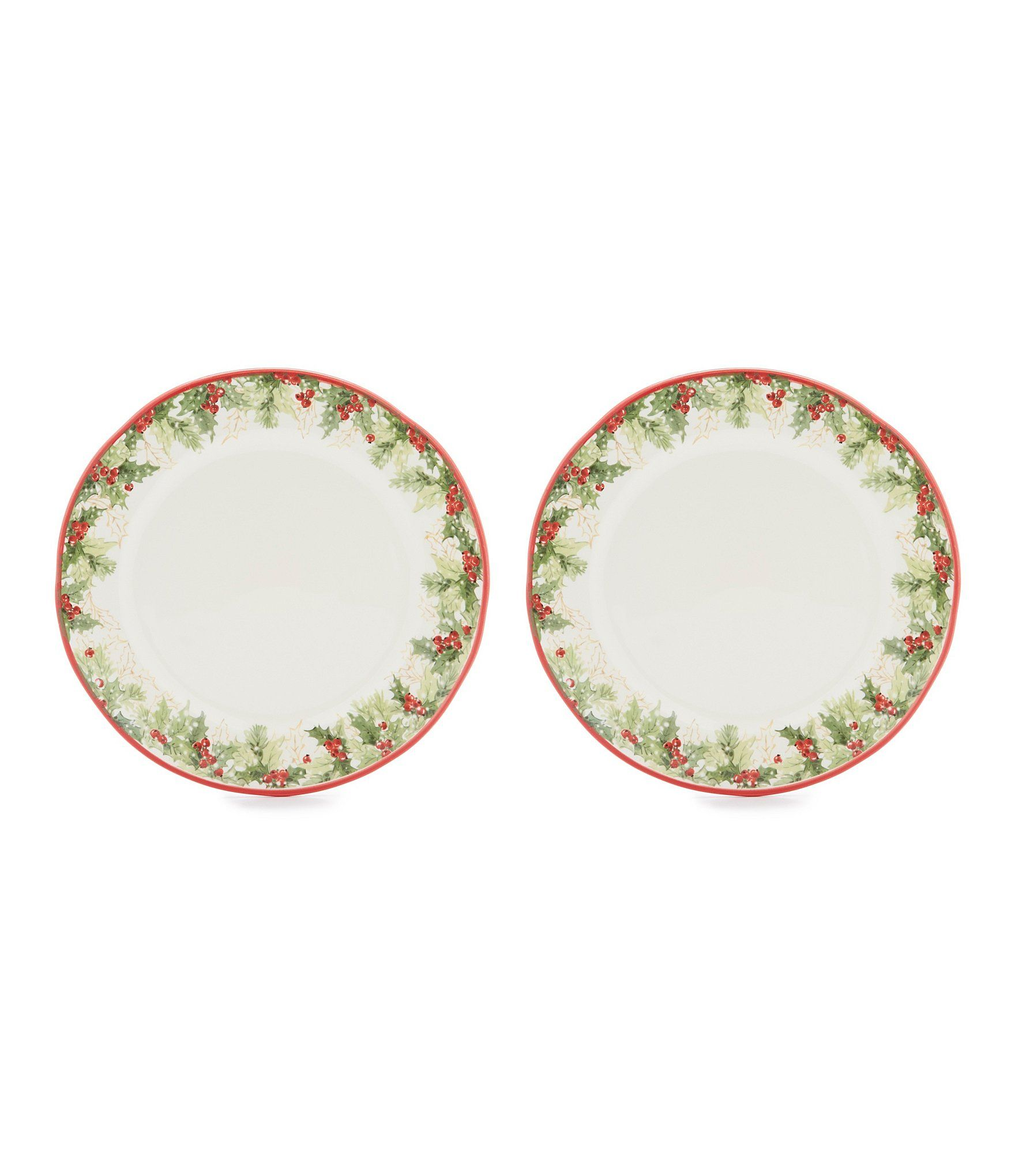 Southern Living 2Piece Christmas Dinner Plate Set #Dillards  sc 1 st  Pinterest & Southern Living 2Piece Christmas Dinner Plate Set #Dillards | 2018 ...