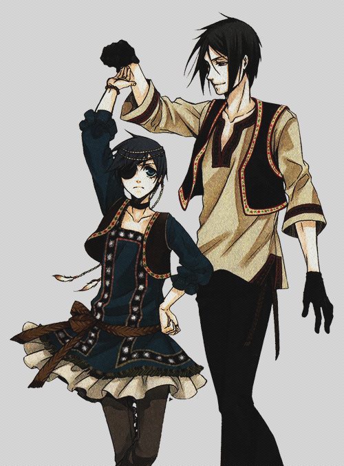 Ciel Phantomhive   Sebastian Michaelis   Kuroshitsuji   Black Butler   Anime