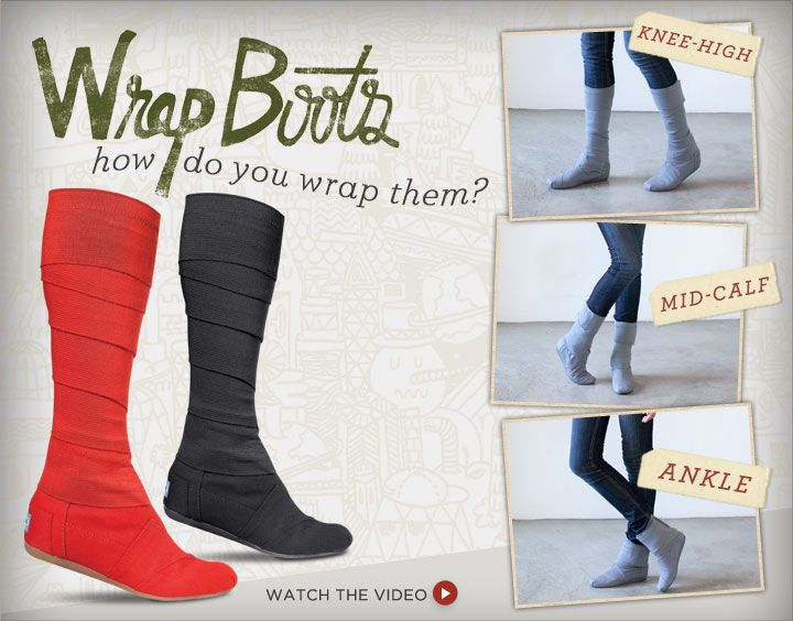cedc6687a95 absolutely attractive with it!Toms Wrap Boots share it.!  59.00 ...