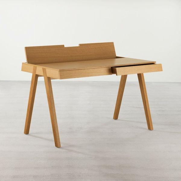 bureau design scandinave chameleon avec un tiroir - Bureau Design Scandinave