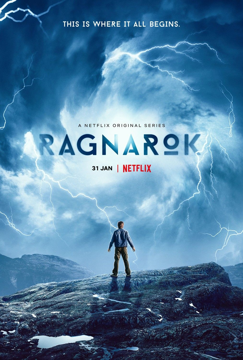 Two New Posters For The New Netflix Original Series Ragnarok
