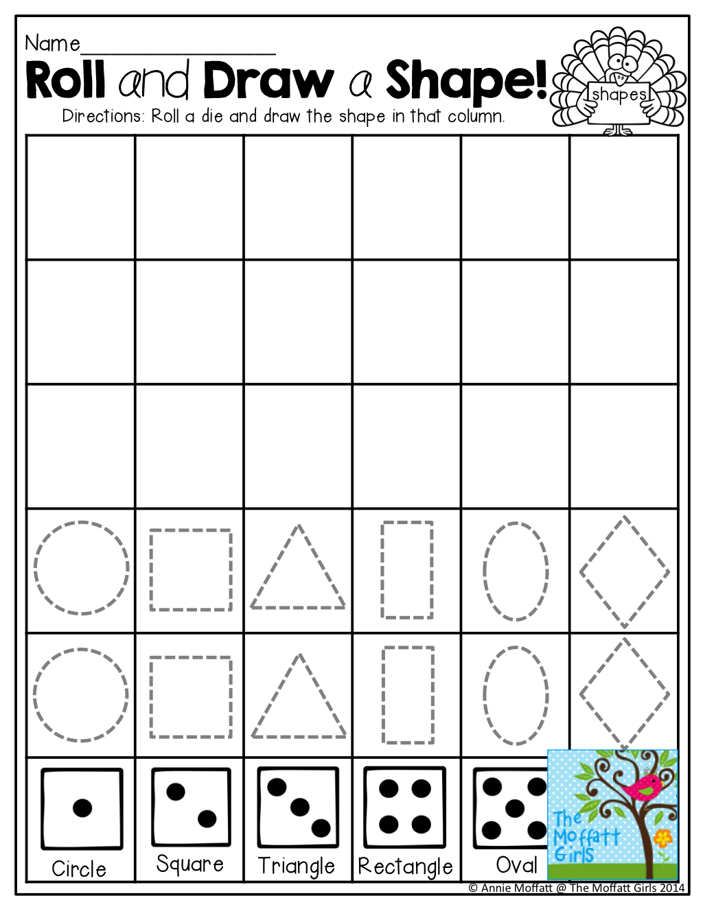 November No Prep Math And Literacy Kindergarten