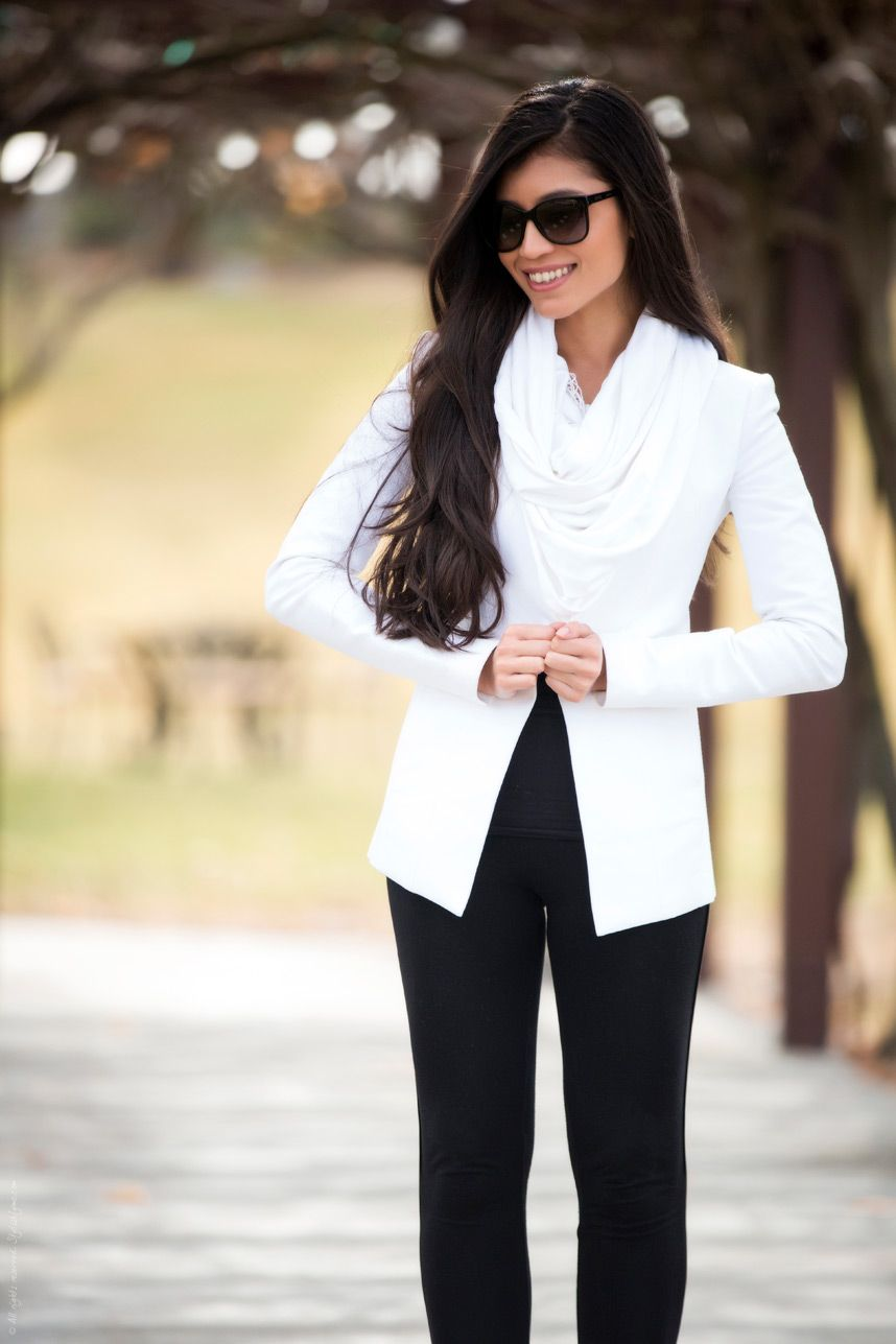 47aff816c2 Minimal Black and White Outfit - Stylishlyme
