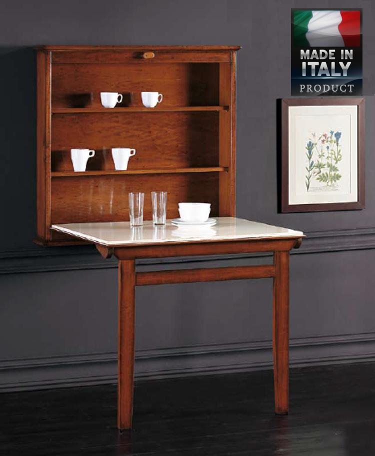 Mesa de comedor de pared tienda de muebles for Mesa abatible pared cocina