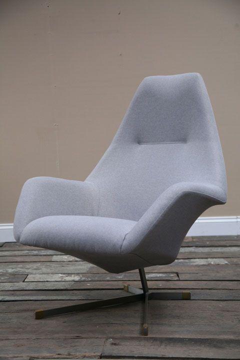 1960s Armchair By Peter Hoyte Cream And Chrome 1960s Armchair Armchair Chair