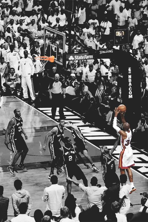 buy online 2bbcd 8f644 Ray Allen s 3-Point Shot in Game 6 of 2013 NBA Finals