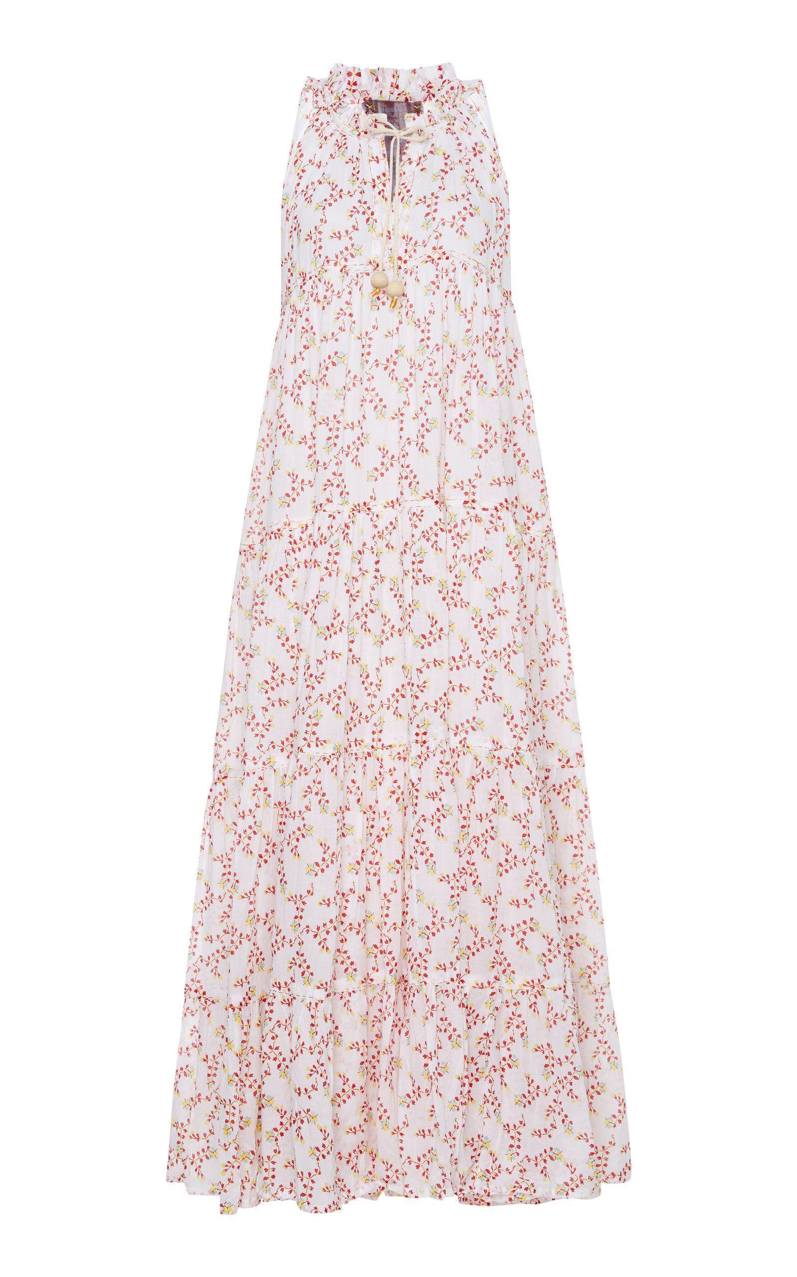 Yvonne s cotton voile floralprint maxi dress dresses pinterest