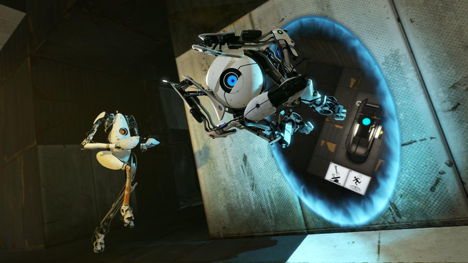 Portal 2 Review Digital Trends Wallpaper for Walls