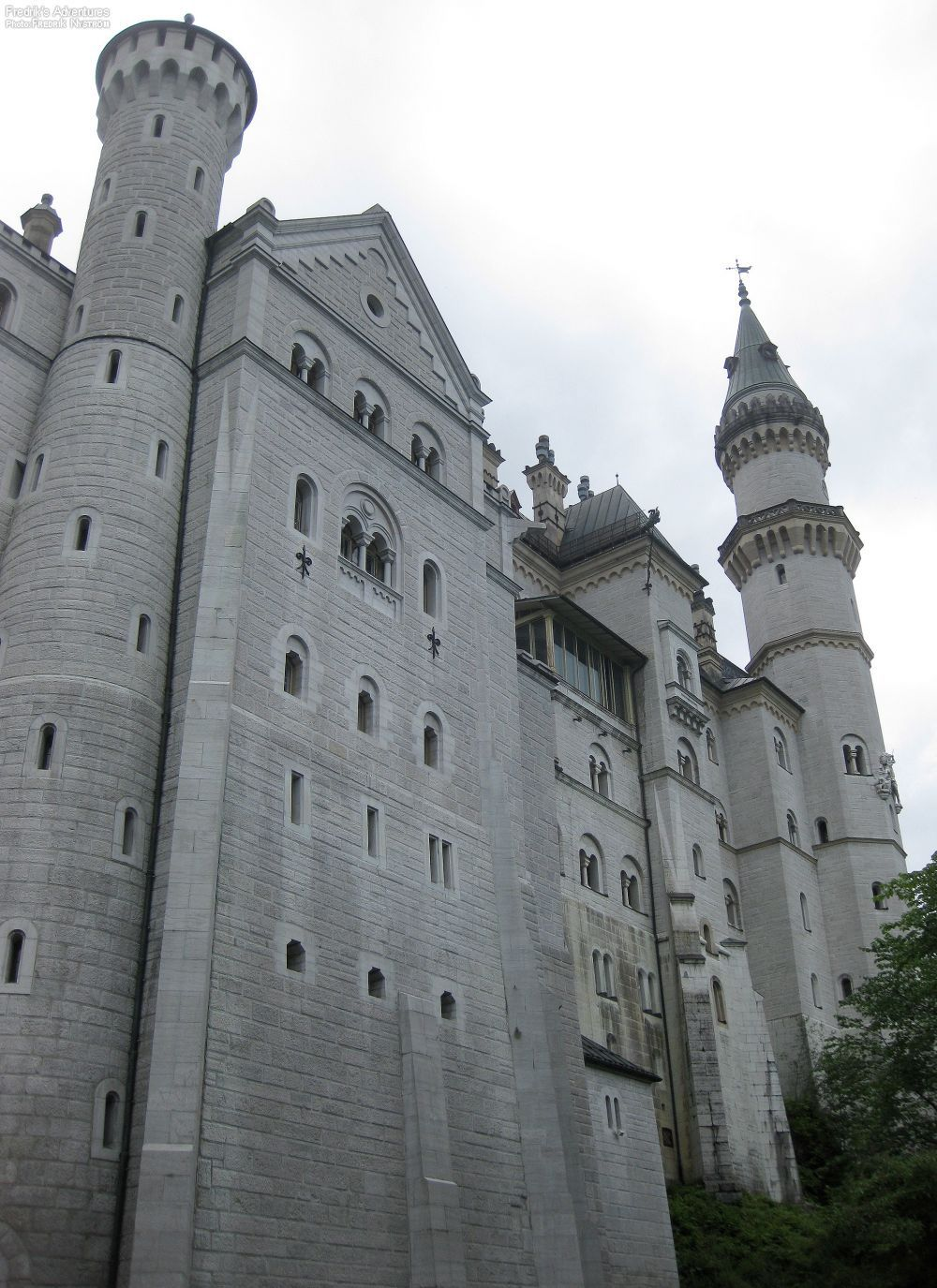 Facade Of Schloss Neuschwanstein Fussen Germany This Was The Home Of King Ludwig Ii A 19th Century Romanesque Castle Impressive S Ludwig Neuschwanstein