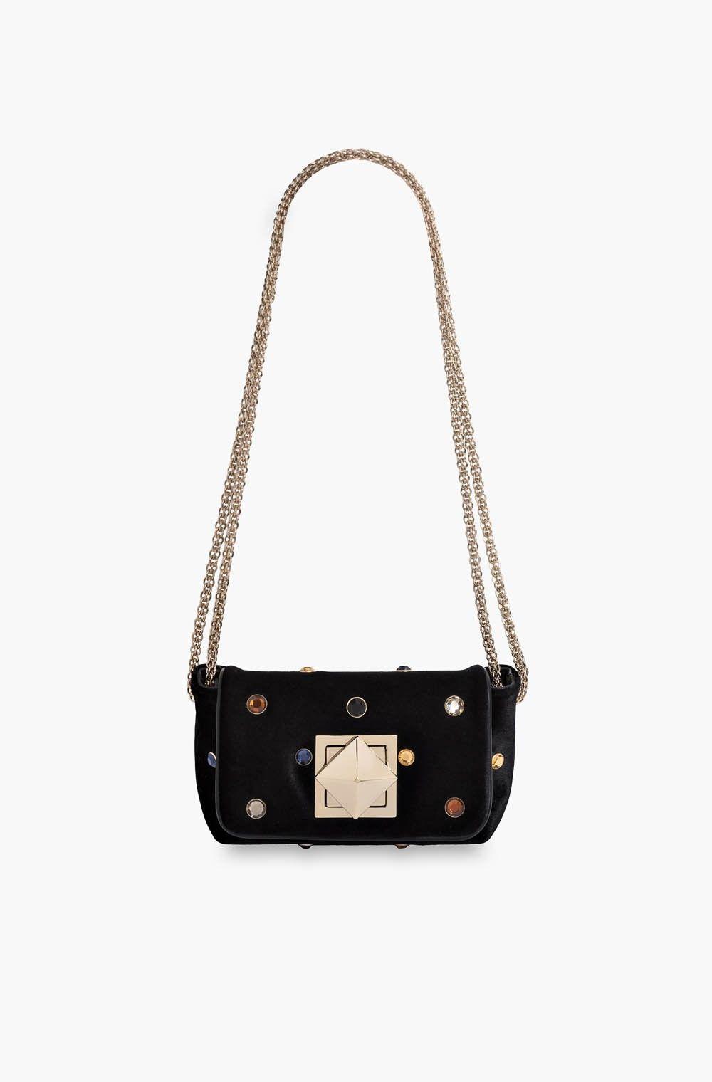 35589f2e684 Velvet bag Le Copain Sonia Rykiel, Kate Spade, Velvet, Rhinestones, Bag