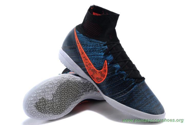 0e0008c5e Cheap Soccer Cleats Mens ACC NIKE ELASTICO Superfly INDOOR Black-Total  Crimson-Blue Lagoon-Dark Grey
