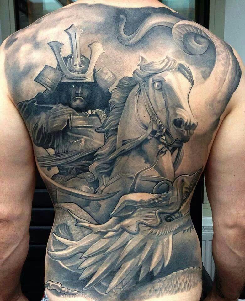 Samurai a caballo