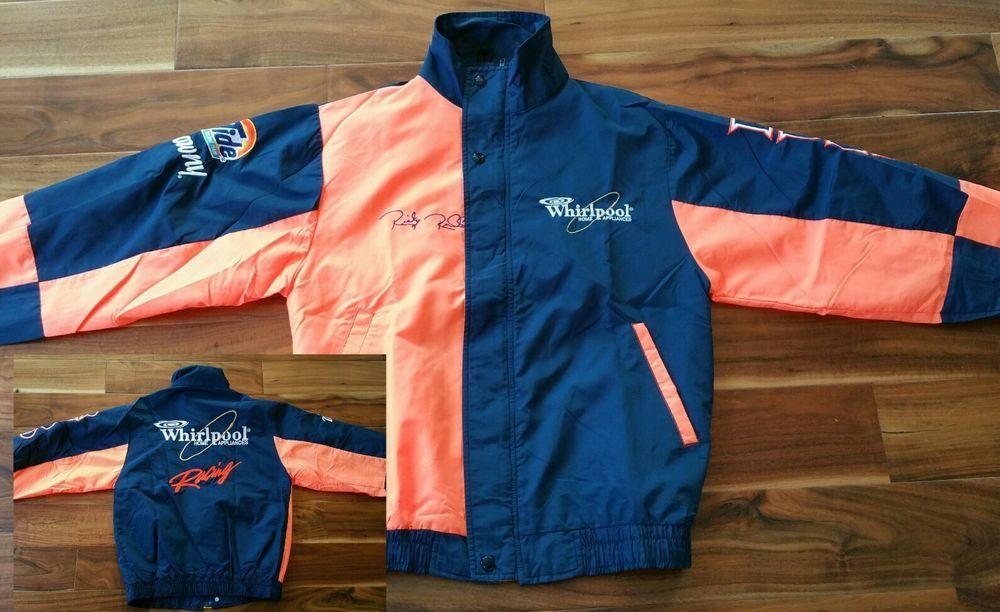 22e98c7f79c08 Vintage Ricky Rudd Whirlpool Tide Downy Racing Team Jacket Men s Small  Nascar  Jebco  WhirlpoolTideDowny